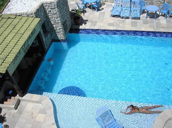 Ipojuca, PE: Vista desde el 3er piso a la piscina