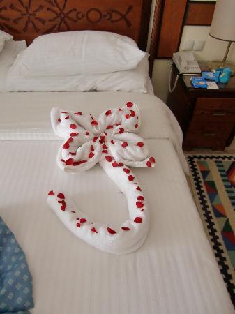 Tiran Island Hotel: Room decor