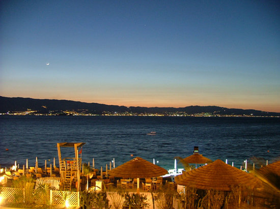 Реджо-ди-Калабрия, Италия: lungomare reggio calabria by night