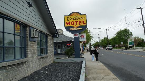 كولتون موتل جيتيسبرج: Hotel front