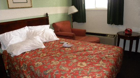 Budget Inn Williamsburg: The room