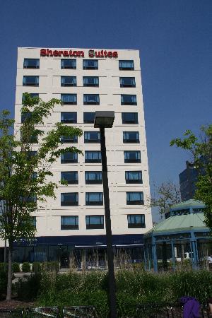 Sheraton Lincoln Harbor Hotel : Vue de l'hotel