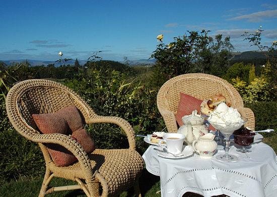Doolan's Country Retreat: HIgh Tea with spectacular panoramic views