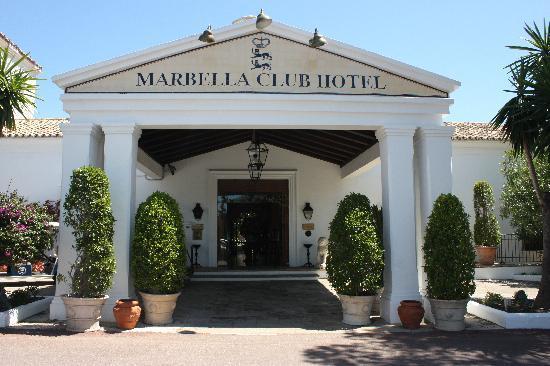 Marbella Club Hotel: Marbella Club Entrance