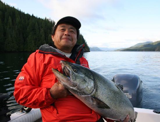 AG-Fish Enterprises Salmon Fishing Charters : Quadra Island salmon fishing