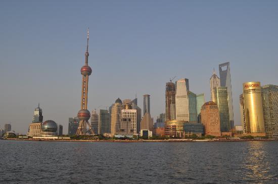 Zhongbang Hotel: Vistas de Pudong