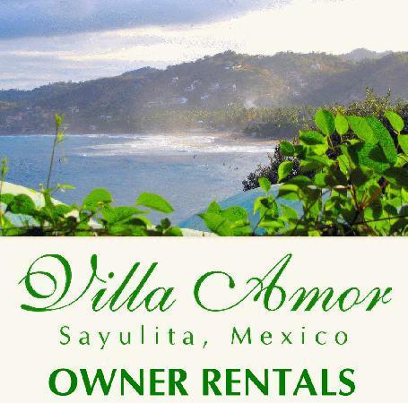 Owner rentals at Villa Amor