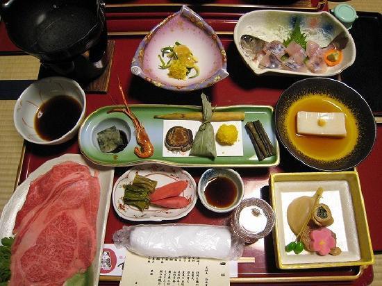 Kozankaku: 料理