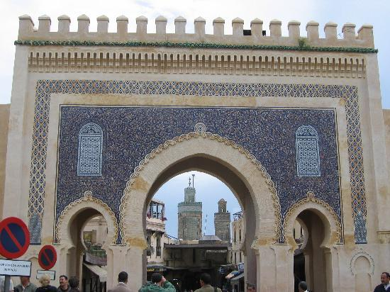 Fes, Morocco: BAB BOU DJELOUD