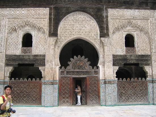 Fez, Marruecos: MEDERSA BOU INANIA