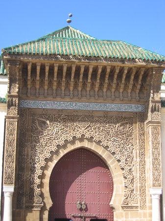 Meknes, Marruecos: Mausolée MOULAY ISMAIL
