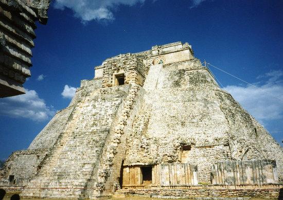 Zona Arqueologica Uxmal: 魔法使いのピラミッド