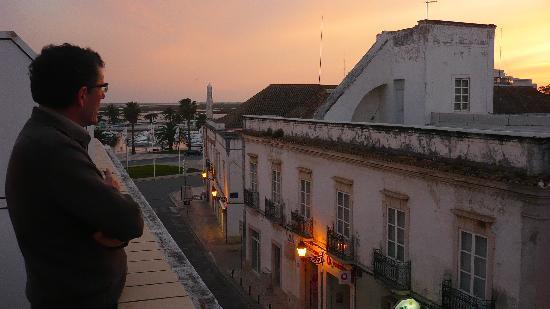 Residencial A Doca: vue du balcon