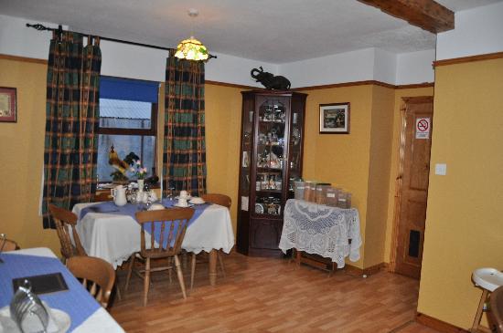 Craigalappin Country House : Frühstücksraum
