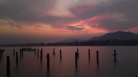 Chalong, Thailand: wonderful sunset