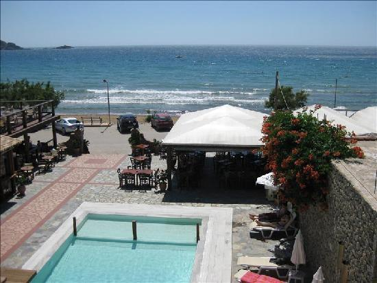 Hotel Horizon: View from balcony