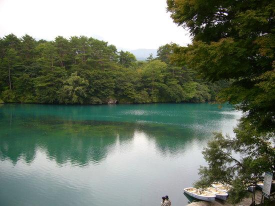 Kitashiobara-mura, Japão: 毘沙門沼