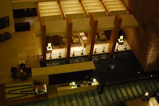 The Strings by InterContinental Tokyo: View of the atrium