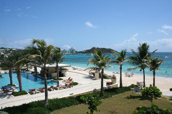 The Westin Dawn Beach Resort & Spa, St. Maarten: The view from our balcony