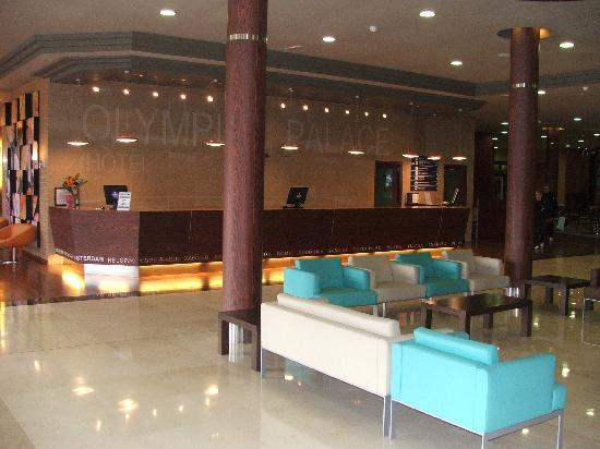 Evenia Olympic Palace: reception