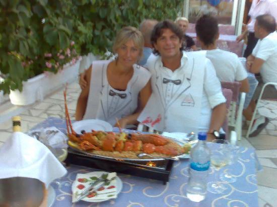 Antonijo: Io la Cla e...una bellissima aragosta con riso!!