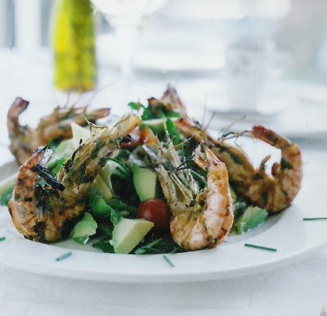 Nonna Lina ristorante pizzeria: Veneranda's prawns