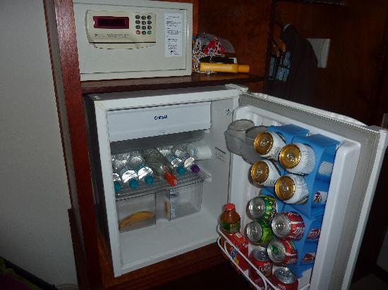 Hotel Ilhas do Caribe: frigo-bar