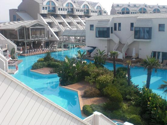 Susesi Luxury Resort: view from our balcony