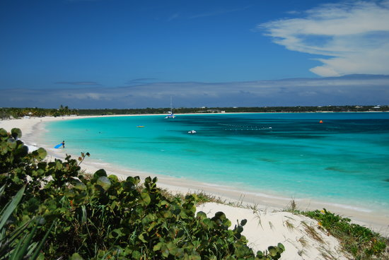 The Valley, Anguilla: Cuisinart Beach from Dune Preserve