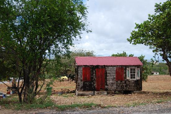 The Valley, Anguilla: an island shack