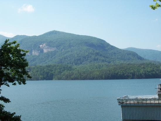 The Lodge on Lake Lure: View