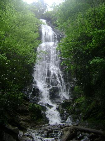Stonecreek Cabins: Mingo Falls in Cherokee, NC