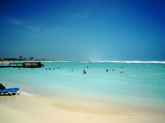 Grand Bahia Principe Coba: Gorgeous beach