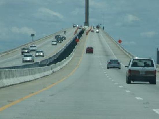 Sunshine Skyway Bridge : Anxiety nearing