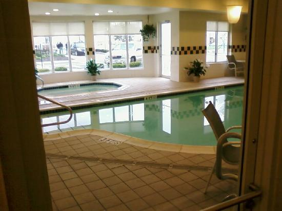 Hilton Garden Inn Columbus Airport: Pool Area