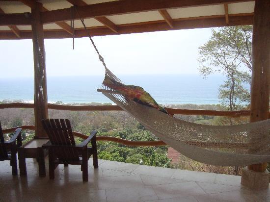 Villa Cacique: view from the veranda