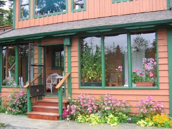 Summerhill Guest House: The Kitchen Garden Suite entrance