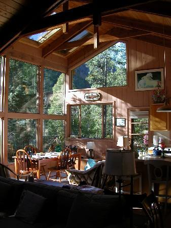 Forest Houses Resort: Floor to ceiling windows