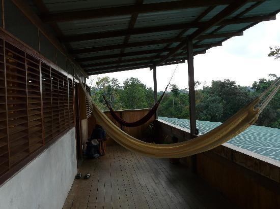 Finca Maresia: terrasse de chambre au dessus de la reception