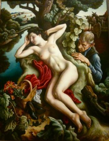 The Nelson-Atkins Museum of Art: Persephone - one of the Thomas Hart Benton paintings