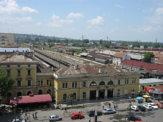 Downtown Belgrade Hostel: Hostel view-main station