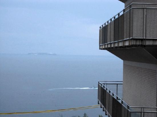 KKR Hotel Atami: ホテルから初島方面の海が綺麗に見えます
