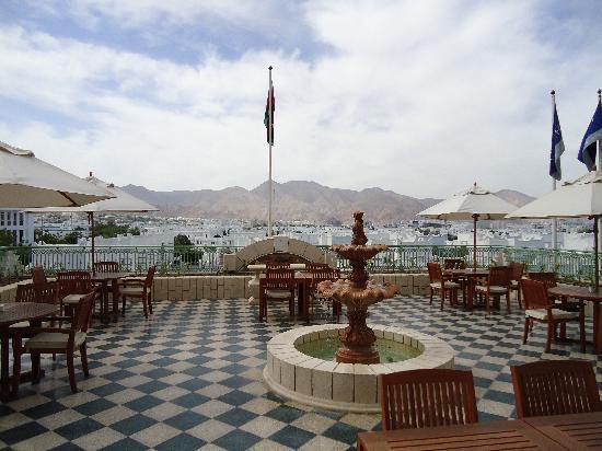 Grand Hyatt Muscat: Grand Club Terrasse