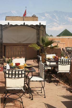 Riad Dar Ellima: La terrasse - The terrace