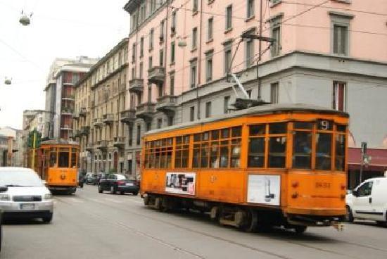 CityLine Hotel Liberty: Old trams