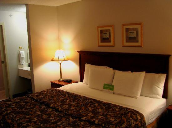 La Quinta Inn & Suites Minneapolis Northwest: King Bed, very comfortable!