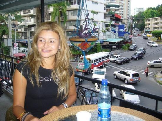 The Spanish Panama School - Day Classes: View from SpanishPanama scool balcony