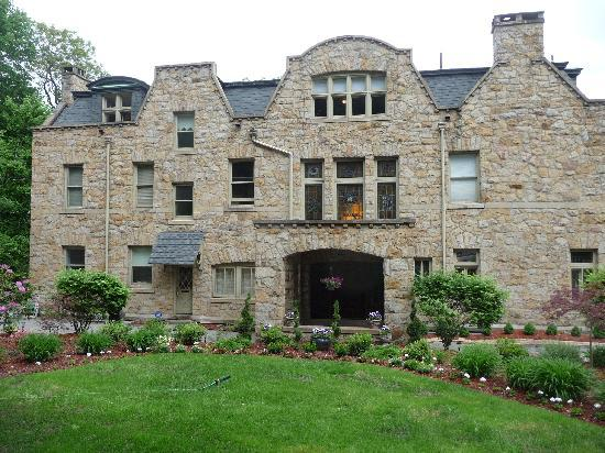 The Mansion at Maple Heights: FRONT OF MANSION