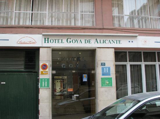 Hotel Goya: hotel view from the outside area