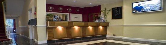 Belgrave House Hotel London Victoria: Reception